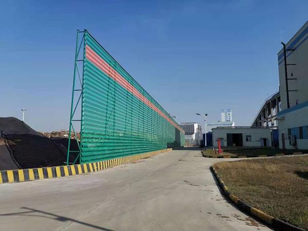 国能生物发电厂防尘网项目